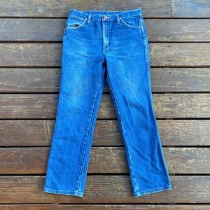 Vintage wranglers straight fit 32 x 30 100% cotton
